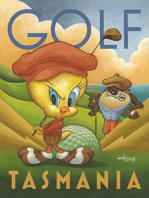 """Golf Tasmania"" by Mike Kungl"