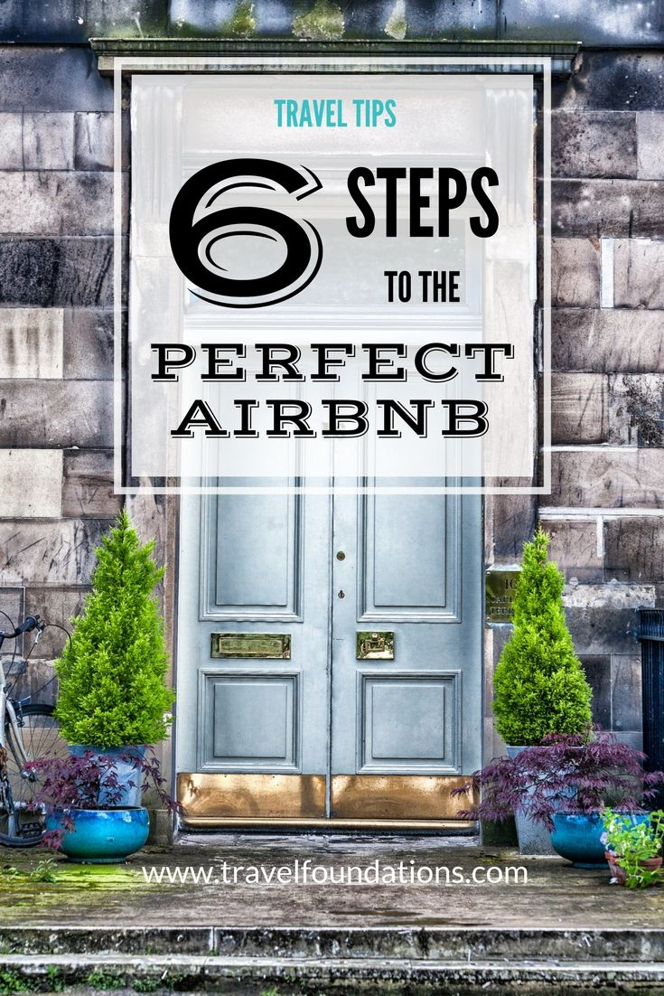 6 Steps to the Perfect Airbnb