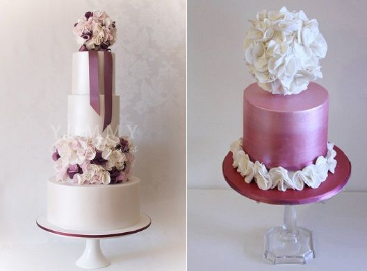 pomander-wedding-cakes-by-Yummy-Cupcakes-Cakes-left-and-Cake-Face-right.jpg 528×391 pixels