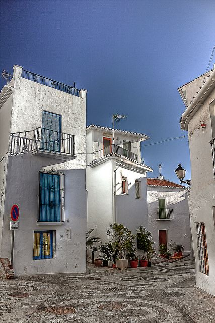 The village of Frigiliana Spain has received a number of awards for its beauty and conservation and is one of the best preserved Moorish villages in Spain. http://www.costatropicalevents.com/en/costa-tropical-events/special-areas/axarquia.html