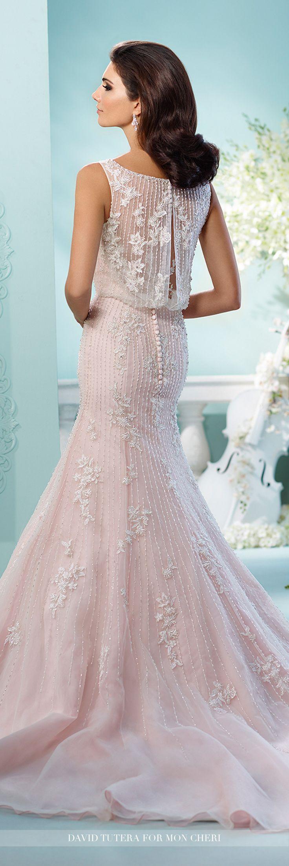Wedding Dresses For Over 55 : Wedding dress david tutera illusion and lace cap sleeve