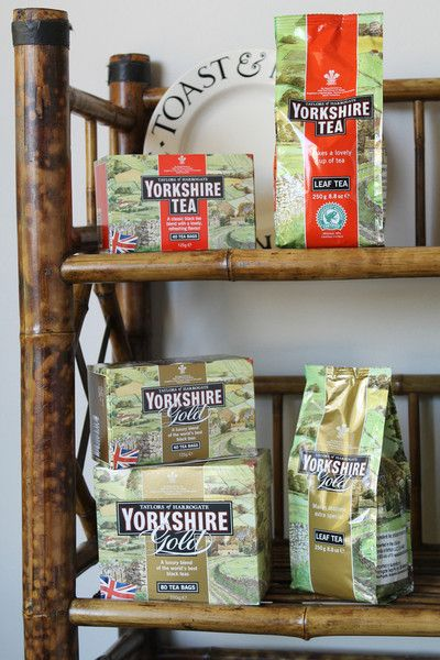 """Yorkshire Teas of Harrogate. Given """"Best of Brew"""" medals. Really great brand. Pin leads back to information about this tea. :-)"""