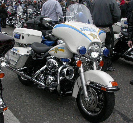 harley-davidson electra glide police #2