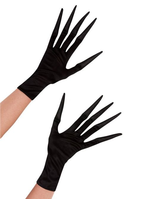 Long Fingered Gloves - Party City... omg so CREEPY.