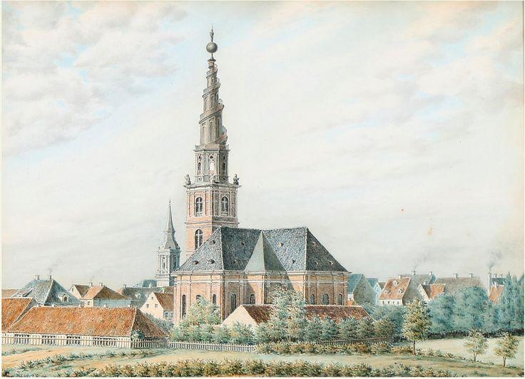 Vor Frelser Kirke Christianshavn 1750, Giovanni Antonio Cesari