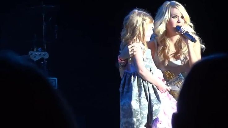Carrie Underwood and Adorable Little Girl Sing See You Again - Music Videos
