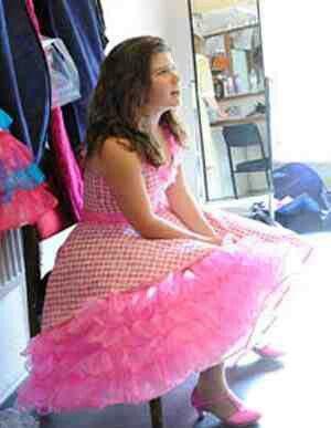 Fluffy Pink Petticoat Petticoats Polka Dots And