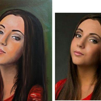 Namaľujem portrét z fotografie-olejová f... za 75€ | Jaspravim.sk