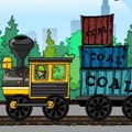 This game has two play sections, the aim of the game is upload your train with coal boxs from a truck once coal loaded deliver it to the factory in your train, As long as you meet the delivery amount required you will move on to the next levels. http://www.itsgamestime.com/puzzle/coal-express.html