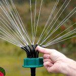 6 Beautiful Decorative Garden Sprinklers