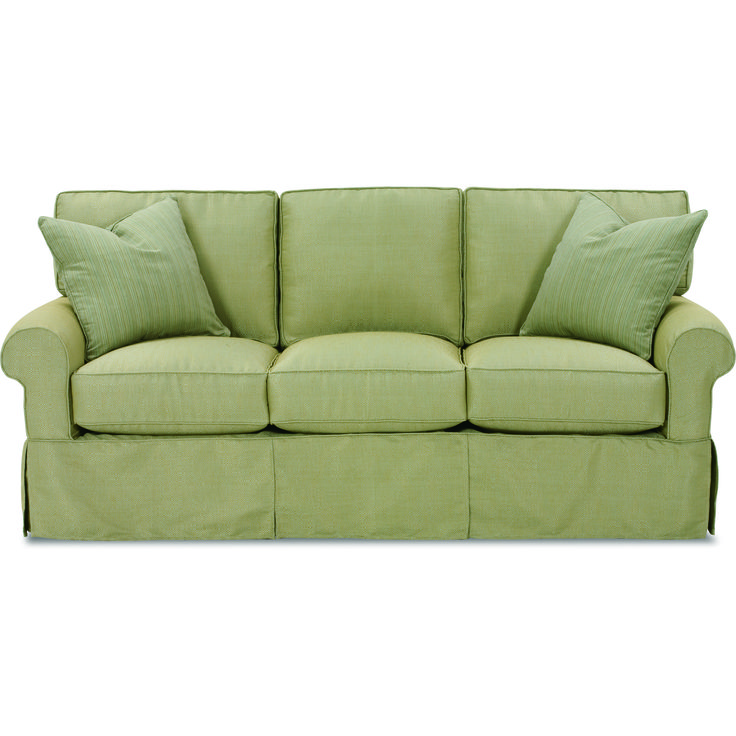 Nantucket 2-Seat Sofa with Slipcover | Rowe Furniture | Home Gallery Stores
