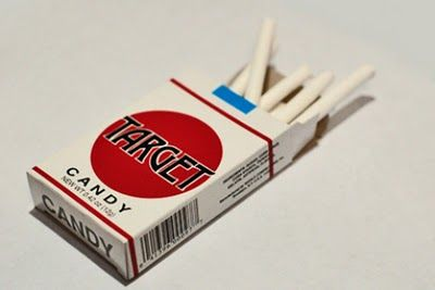 Candy Cigarettes - These are sooo bad! I can't believe I had these when I was a kid!!!