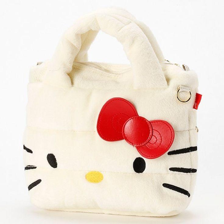 Hello Kitty 2Way Mini Shoulder Tote Bag #hellokitty #2waybag #minishoulderbag #totebag