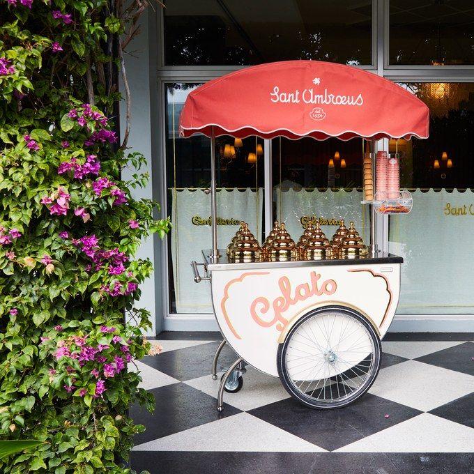 Gelato cart inspiration