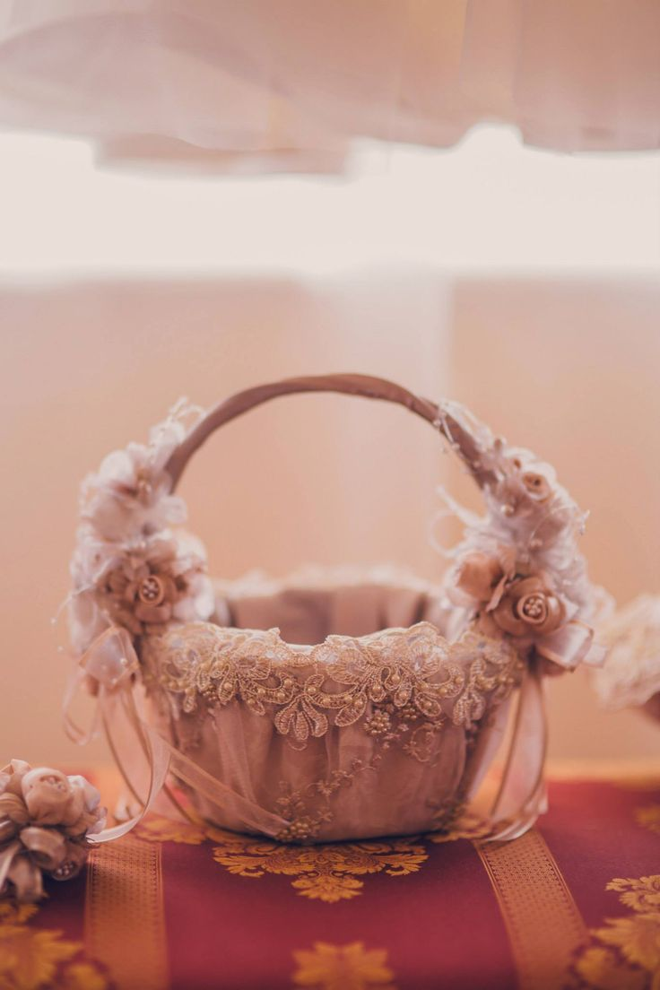Romantic Victorian Wedding  Wedding Accessories  Flower Basket Photo Credits: Vlad Gherman Photography