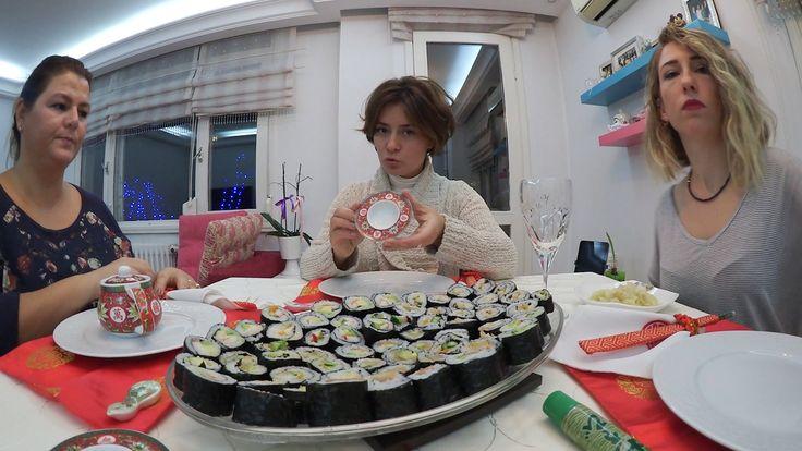 Evde Sushi (Suşi) Nasıl Yapılır? - Keyifli Kadınlar