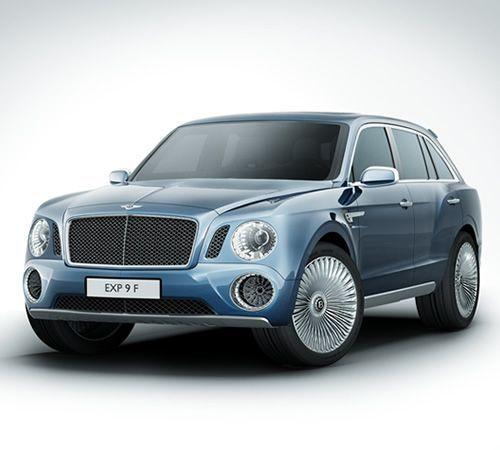 Luxury Cars  :   Illustration   Description   Bentley EXP 9 F Concept SUV