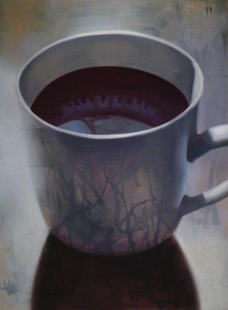 Nyomok 02 / Traces 02 - 2014 - 150x110 cm - olaj, vászon / oil on canvas