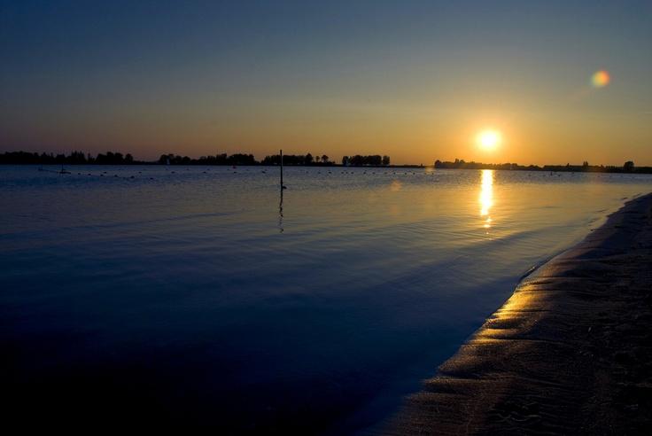 Just a minute walk from home, lake 'Noord AA' Zoetermeer, The Netherlands