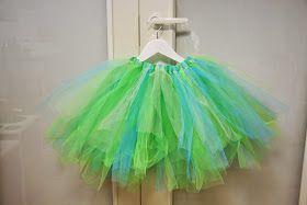 Meidän Pieni Ryyni: Superhelppo tyllihame - tutorial How to make a super easy ballerina dress.