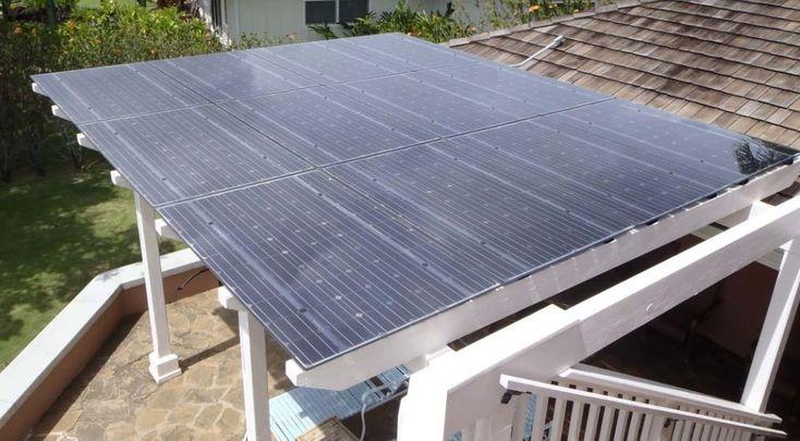 23 Best Images About Solar Panels On Pergola On Pinterest