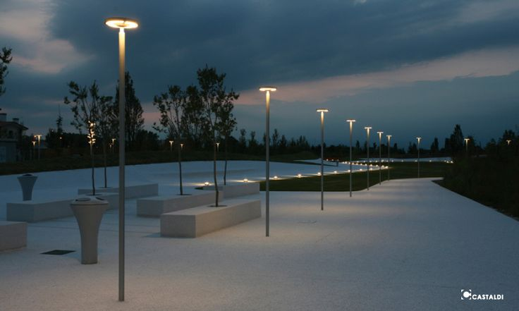 Gadebelysning - streetlighting - Castaldi - lysdesign - anker & co