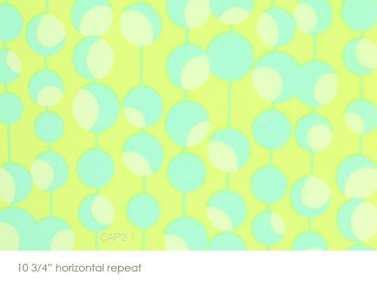 Midwest Modern Martini Lime Green Amy Butler Westminster Fabrics - 1 yard op Etsy, 6,63€