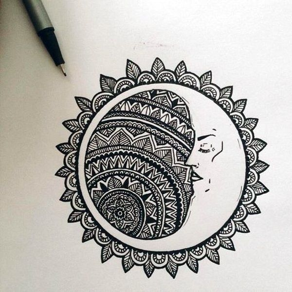 40 Absolutely Beautiful Zentangle Patterns For Many Uses Drawing