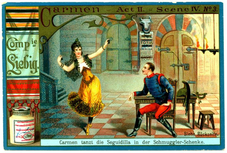 outlet tiffany https   flic kr p fXLiM6   Liebig Tradecard   S454 Carmen  3   Liebig  39 s Beef Extract  quot Carmen quot   an opera by Georges Bizet  German issue  1895