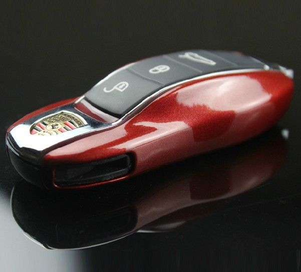 Gratis Pengiriman Kasus Tombol Remote Pengganti Penutup fit untuk Porsche boxster Cayman Panamera Cayenne Macan 911 997 918