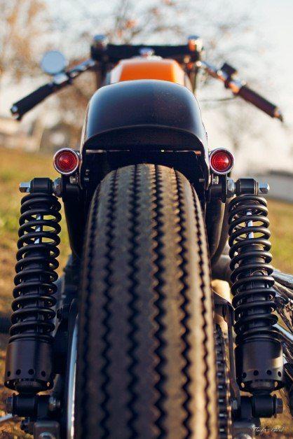 Harley Davidson 883. Photo: Simone Flash Benedetti