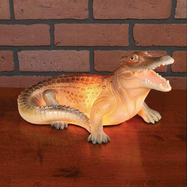 Alligator Table Lamp Novelty Quirky Home Decor Conversation Starter Ebay Quirky Home Decor Table Lamp Desk Light