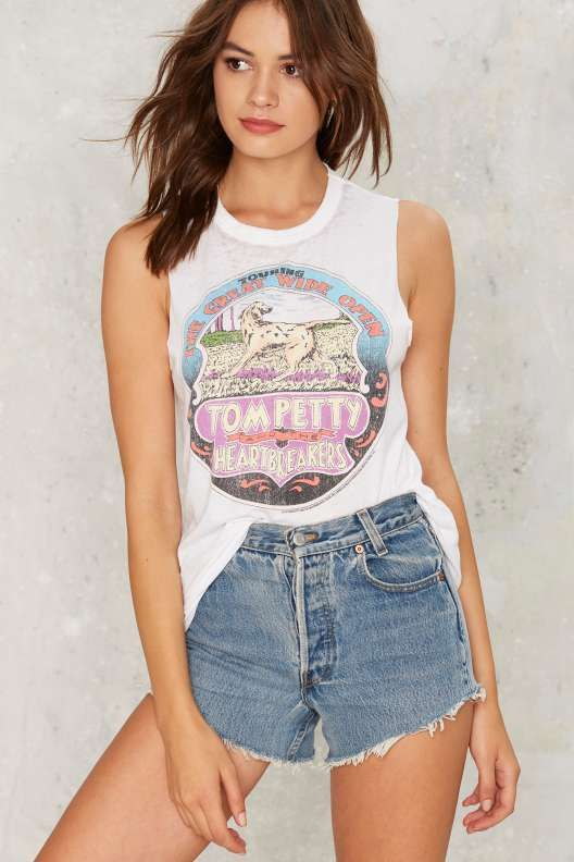 Chaser Tom Petty Graphic Tank - Clothes
