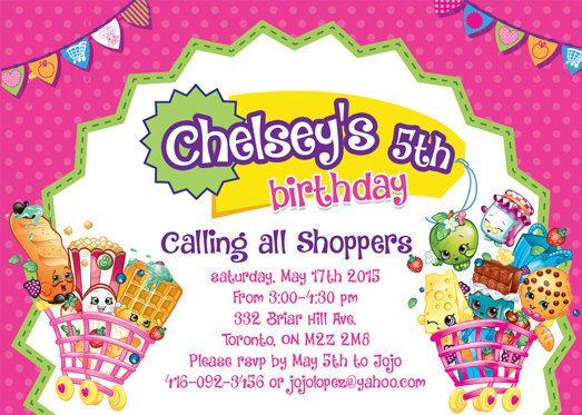 59 best kenleys 5th birthday images on pinterest birthday party shopkins custom printable birthday invitation by 5dollarparty on etsy httpsetsy filmwisefo Images