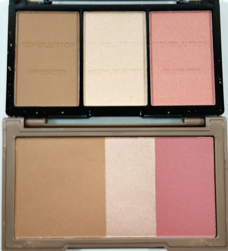 Is the Makeup Revolution Ultra Sculpt and Contour Kit a dupe for Urban Decay Naked Flushed? Find out now!