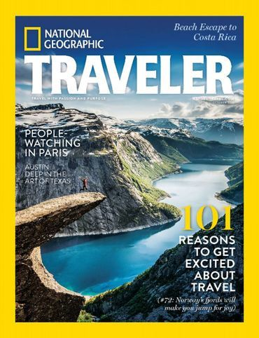 If you have ever dreamed about going to all the fantastic places found in National Geographic Magazine, now's your opportunity. National Geographic Traveler Magazine is the spinoff publication that te