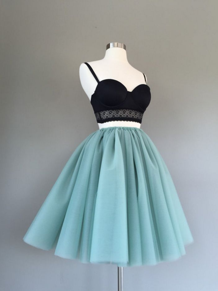 Spaghetti Straps Homecoming Dresses,A-line Homecoming Dresses,Two Pieces Homecoming Dresses,Lace Hom on Luulla