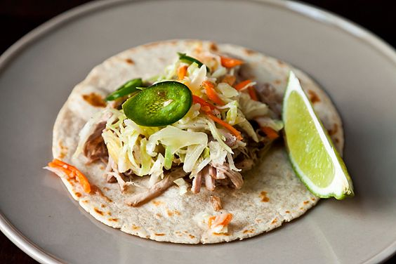 Citrus Pulled Pork Tacos | Pulled Pork Tacos, Pork Tacos and Pulled ...