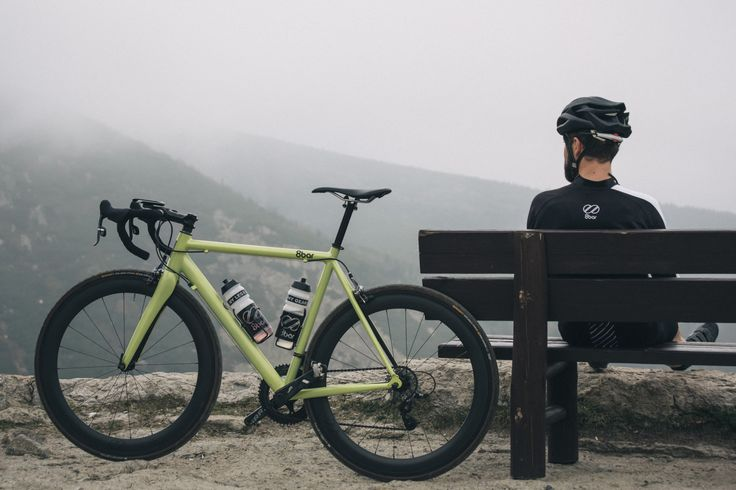CYCLIVIST - a blog for cyclists. — 8bar-bikes:   At the top of Schneekoppe with the...