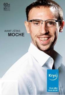 Ribéry moche avec ou sans ! #Krys