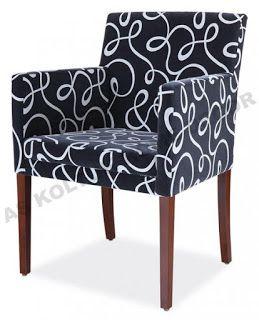 AS Koltuk Home Decor: For Sale - Monochrome Pattern Single Sofa