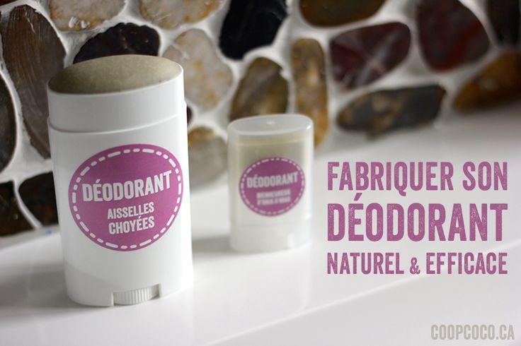 déodorant naturel et efficace + idées de combinaisons d'huiles essentiels