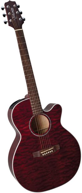 EG440C-STRQ 6 String Acoustic / Electric Guitar (Discontinued) - Takamine Guitars