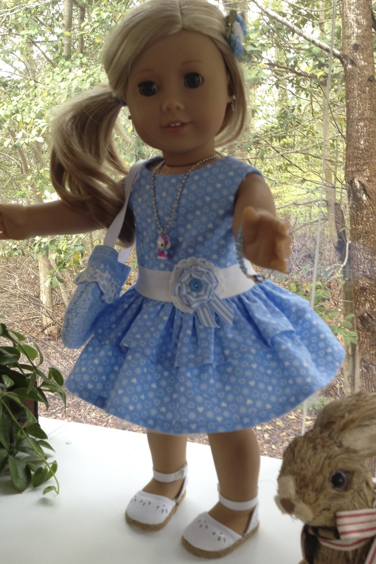 Made this outfit for my niece's American Girl doll.
