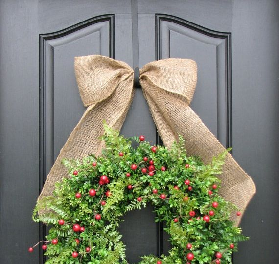 17 best images about wreaths on pinterest how to hang for Door wreath hanger