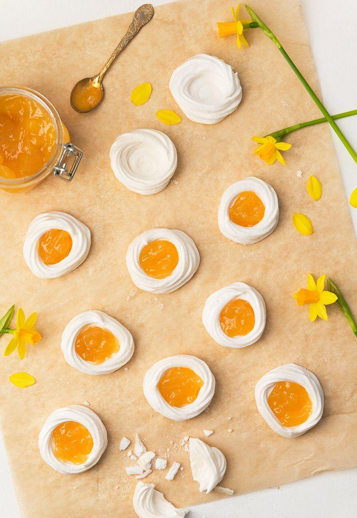 Sofia Byström - Stekta ägg (marängbon med lemon curd)