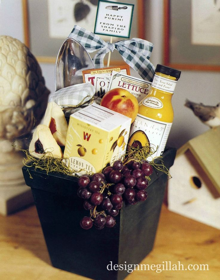 Great Gift Basket Of Sweet Treats