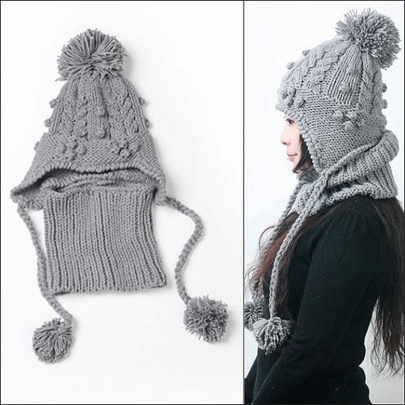 Mejores 60 imágenes de Tejer cuellos, bufandas y gorros en Pinterest ...