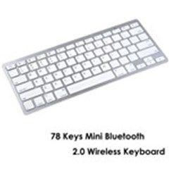 78 Keys Mini Bluetooth 2.0 Wireless Handheld Keyboard for iPad iPhone PC