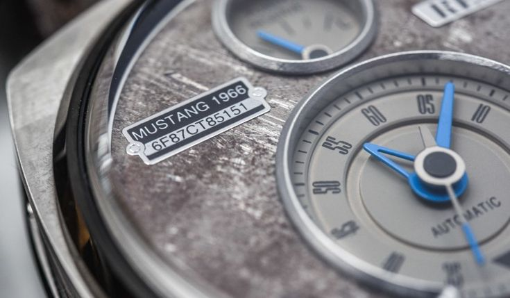 REC P-51 Mustang Watch With Dials Made Of Vintage Ford Mustang Parts Review Wrist Time Reviews